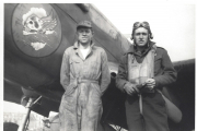 85th-FS-Milo-R.-Klear-right-likely-with-Crew-Chief-Henry-Thedford.-Milo-Klear-collection-via-Susan-Klear