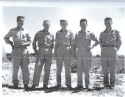 85th-FS-Malcolm-Joe-McNall-center-in-desert-with-other-personnel.-Malcolm-McNall-collection-via-Mike-McNall