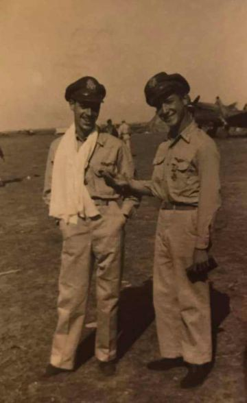 86th-FS-Robert-J.-Fuller-left-and-Henry-W.-Kent-with-medals.-John-McNeal-collection-via-the-McNeal-Family