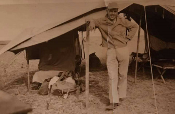 86th-FS-John-R.-McNeal-and-his-tent-at-Penny-Post-LG-Italy.-John-McNeal-collection-via-the-McNeal-Family