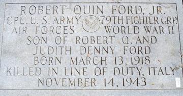 87th-FS-Robert-Q.-Ford-tombstone-Edgewood-cemetary-Lowell-NC