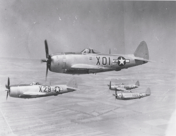 79th-FG-P-47s-during-aerial-parade-over-Udine-Italy-on-28-May-1945.-Robert-Kelley-collection-via-Peter-Kelley