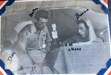 79th-FG-CO-Earl-Bates-playing-chess-with-Benjamin-Duke-Uhrich-of-the-87th-FS-and-Baron-NFI.-Charles-Grogan-collection-via-Steve-Grogan