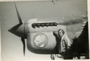 85th-FS-Charles-Bolack-beside-a-P-40-named-Shirl-2nd.-Jacob-Schoellkopf-collection-via-Ian-Lyn