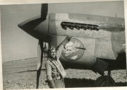 85th-FS-Charles-Bolack-beside-a-P-40-named-Shirl-2nd.-Jacob-Schoellkopf-collection-via-Ian-Lyn1