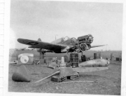 85th-FS-Flight-Chief-Montie-Whittenberg-disassembling-P-40-for-inspection-of-fire-damage1.-Montie-Whittenberg-collection-via-Ron-Whittenberg