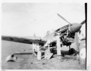 85th-FS-Flight-Chief-Montie-Whittenberg-disassembling-P-40-for-inspection-of-fire-damage3.-Montie-Whittenberg-collection-via-Ron-Whittenberg