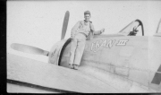 85th-FS-Flight-Chief-Ralph-Cox-on-P-47-named-Fran-III.-Montie-Whittenberg-collection-via-Ron-Whittenberg