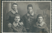 85th-FS-Henry-Tomlin-Bottomleft-and-Michael-Calomino-Top-right.-Henry-O.-Tomlin-collection-via-Jeanette-Tomlin