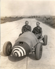 85th-FS-armorer-Henry-Tomlin-driving-and-David-Schuth-Engineering-Section.-Henry-O.-Tomlin-collection-via-Jeanette-Tomlin