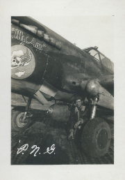85th-FS-armorer-Paul-Gunderson-with-P-40-named-My-Ann-Henry-O.-Tomlin-collection-via-Jeanette-Tomlin