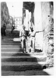 85th-FS-armorers-Victor-Kolar-and-Harold-Fogg-in-Caltagirone-Sicily.-James-Connors-collection-via-John-Connors