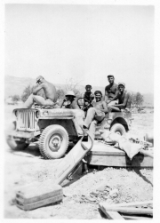 85th-FS-in-Sicily-Tex-Charley-Williams-Had-George-Nadvornik-Francis-Flanigan-M.B.-Bunch-Mike-Calomino-Vic-Kolar.-James-Connors-collection-via-John-Connors