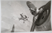 85th-FS-pilot-Robert-Taylor-climbs-into-a-recaptured-French-bomber.-Samuel-L.-Say-collection-via-family