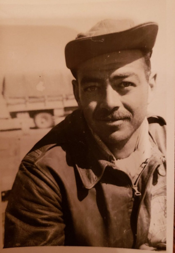 85th-FS-pilot-Robert-Taylor-roommate-of-Samuel-Say-from-LG-174-to-Sicily.-Samuel-L.-Say-collection-via-family