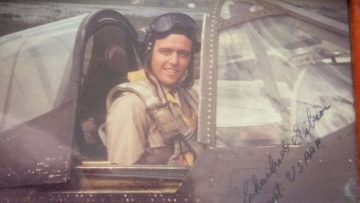 86th-FS-Charles-Gibson-in-cockpit-of-P-40.-Charles-Gibson-collection-via-Bruce-Gibson