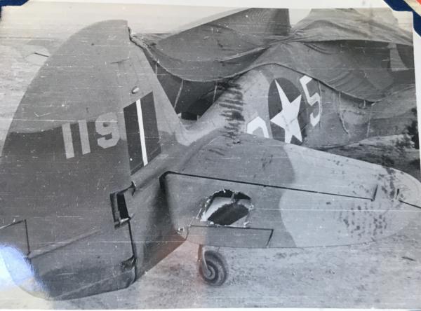 87th-FS-P-40-with-battle-damage.-Charles-Grogan-collection-via-Steve-Grogan