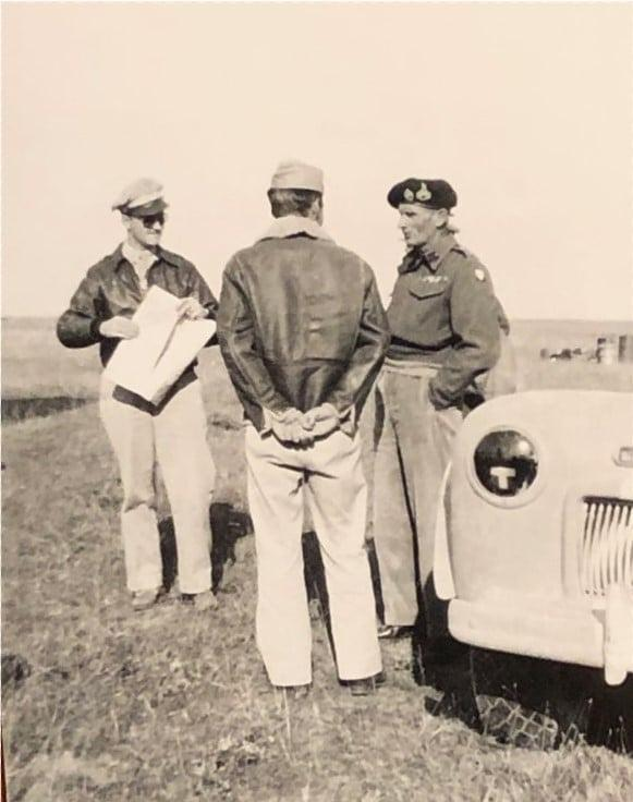 87th-FS-Rocco-Loscalzo-collection-Palagonia-LG-Sicily-Sept.-1943-with-General-Montgomery-Major-Benson-and-Col.-Bates-via-Frank-Loscalzo