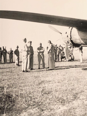 87th-FS-being-visited-by-General-Doolittle-at-Penny-Post-LG-Italy-Oct-1943.-Rocco-Loscalzo-collection-via-Frank-Loscalzo