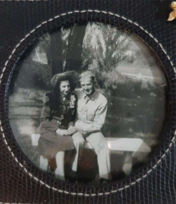 87th-FS-mechanic-Wilburn-Jack-Thompson-and-his-wife-Rita-Bour-via-daughter-Shelly-Hern