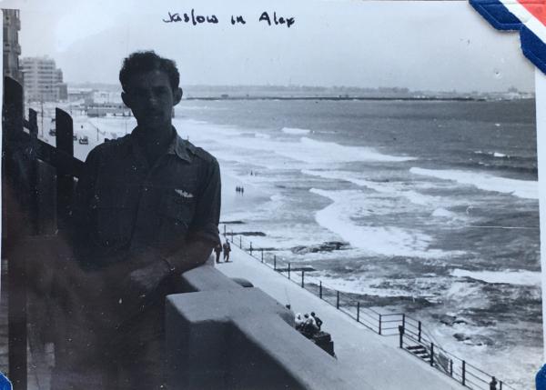 87th-FS-pilot-Lt.-Charles-Jaslow-in-Alexandria.-Charles-Grogan-collection-via-Steve-Grogan