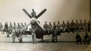 86th-FS-Horace-W.-Cumberland-China-1945-P-51-group-photo.-Horace-Cumberland-collection-via-Claudia-Beckley