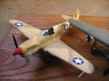 85th-FS-model-of-the-P-40F-flown-by-John-Martin.-Models-built-by-and-photo-via-James-Robbins