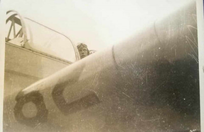 86th-FS-Robert-Allard-in-Fairchild-PT-26.-Robert-Allard-photo-via-Forrest-Allard
