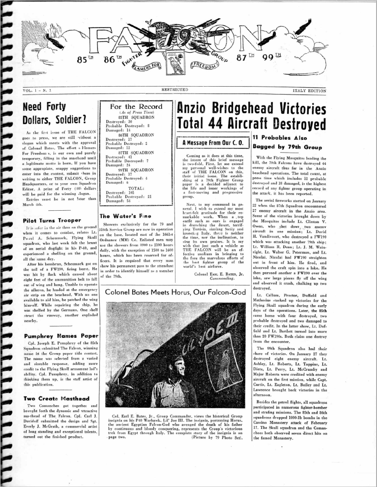 Newsletter Vol1 Issue 1